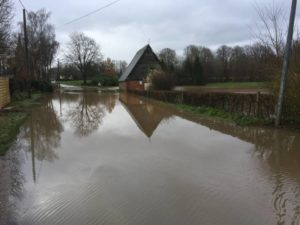inondation voirie